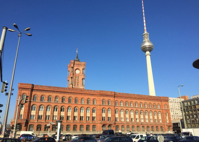 Torre de telecomunicaciones Berlín
