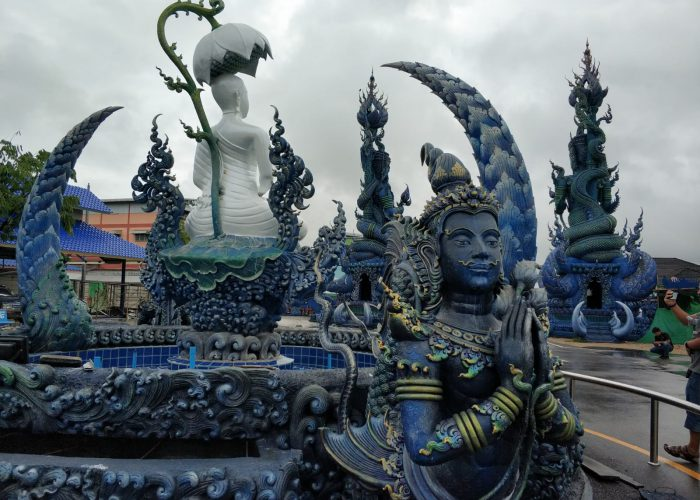 Templo azul. Tailandia.