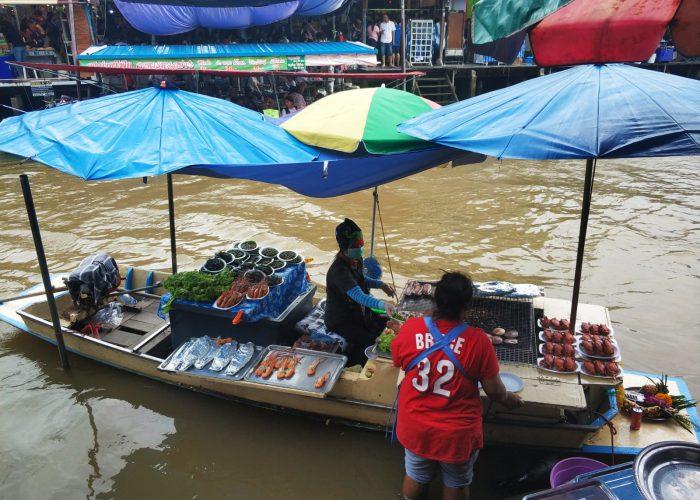 Mercado flotante Tailandia
