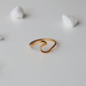 anillo lucky bay dorado