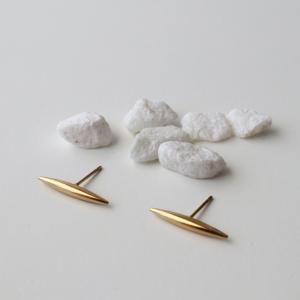 pendientes minimalista dorados
