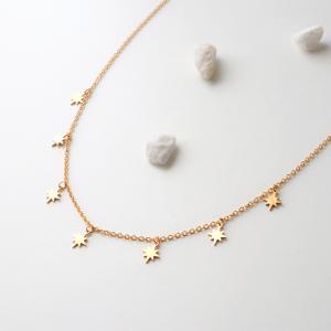 collar edelweiss dorado